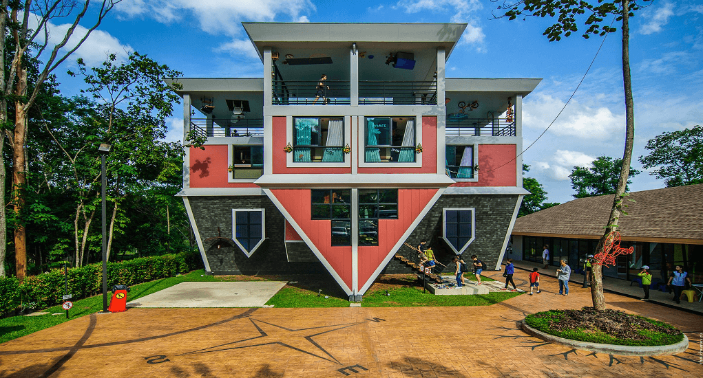 Thailand - The Upside Down House