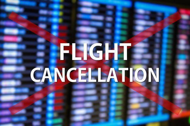 the flight cancellation