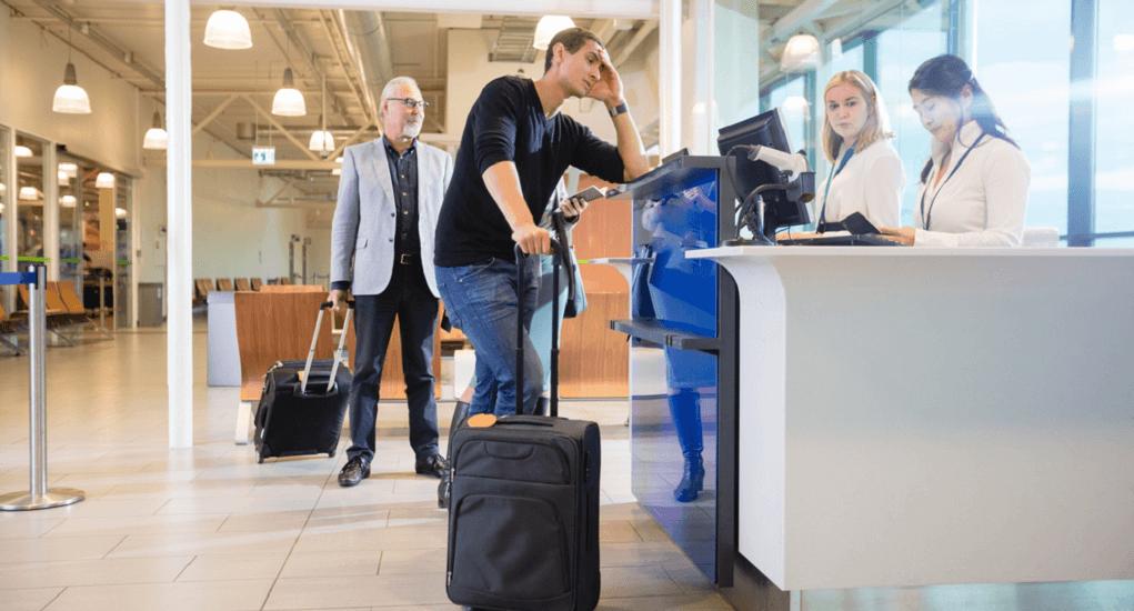 Tiket Pesawat - Menjelaskan Kekeliruan Tersebut Saat Proses Check In