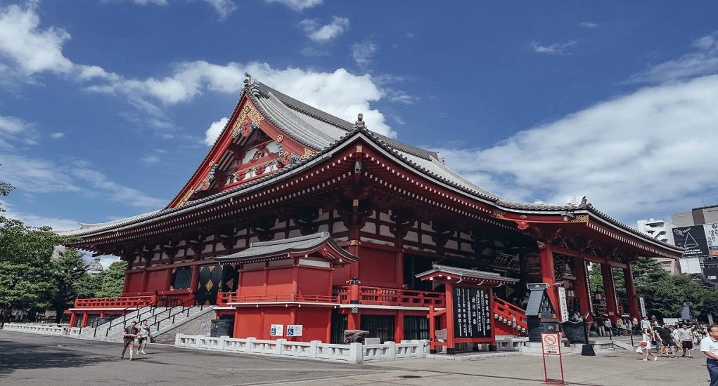 Tokyo - Asakusa Kannon Temple (Sensoji)