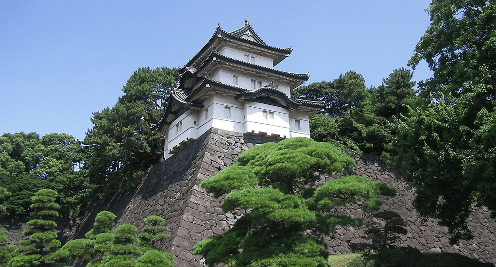 Tokyo Imperial Palace - History of the Palace