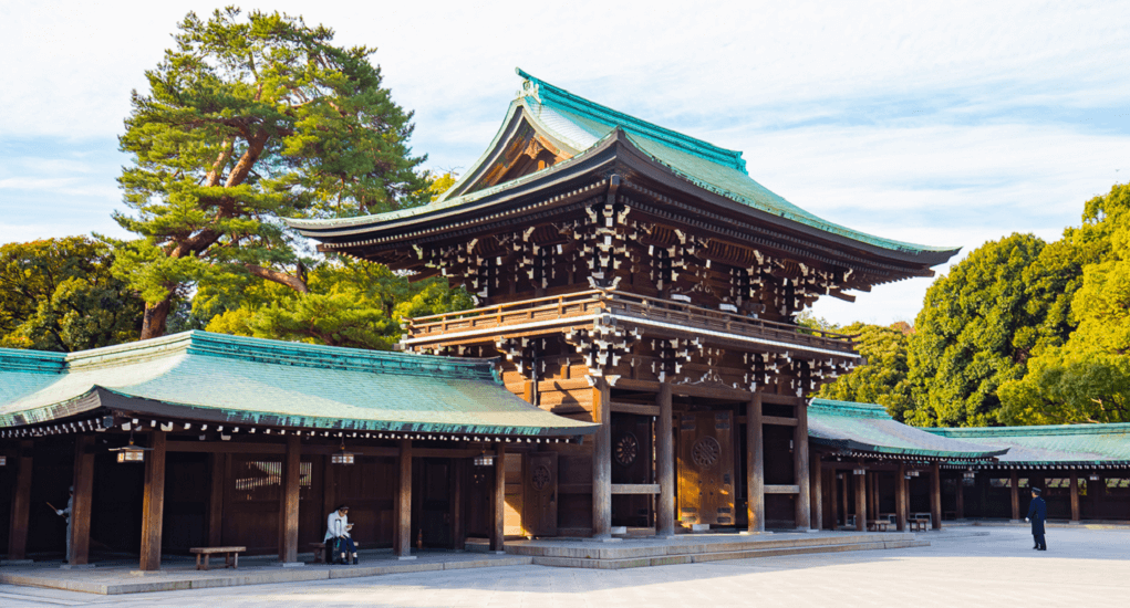 Tokyo - Meiji Jingu Shrine