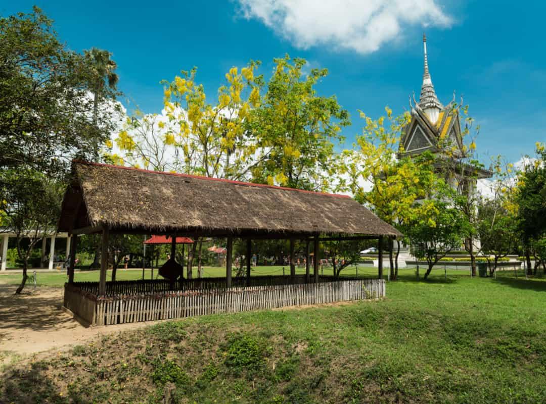 Rumah penyiksaan di Ladang Pembantaian, Kamboja
