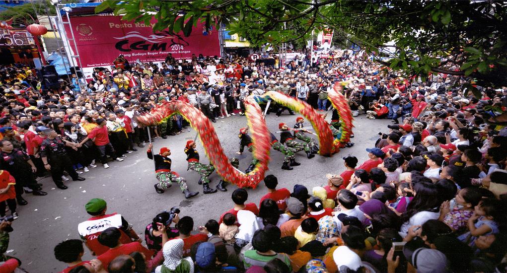 Tradisi Imlek Unik di Indonesia - Street Festival di Bogor