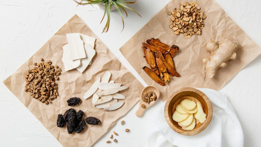Traditional Chinese Medicine uses herbs and other natural ingredients to improve one's condition
