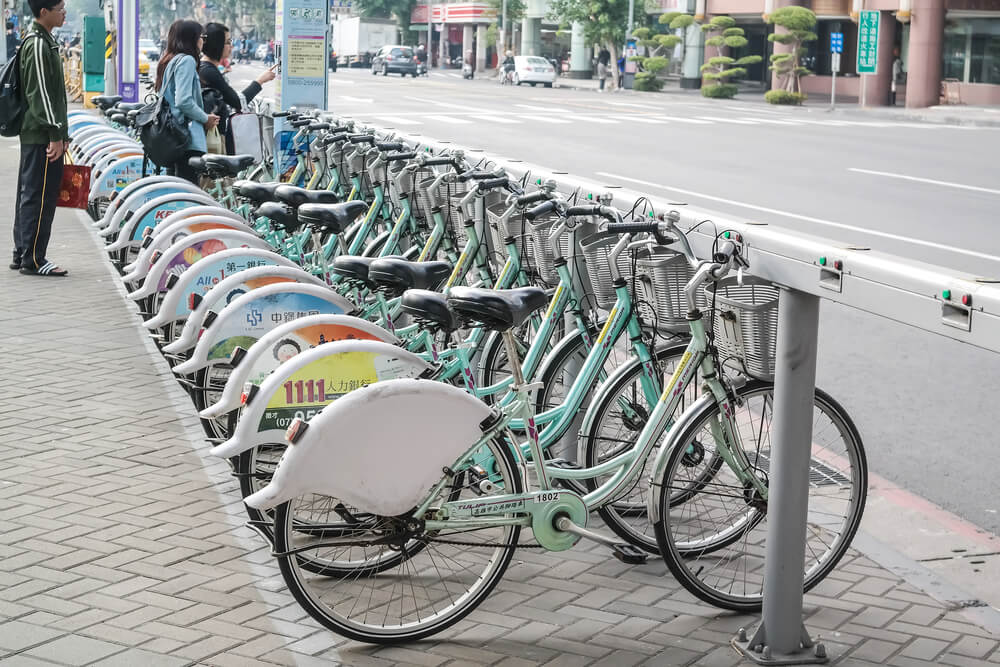 Public Bicycle - Unique Transportation Mode from Taiwan