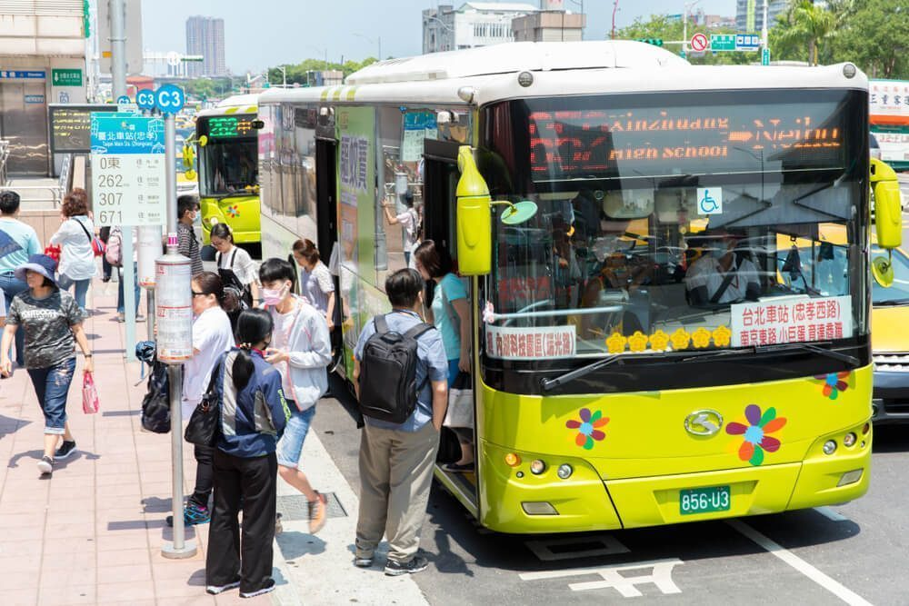Public Bus - Best Public Transportation in Taiwan