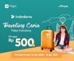 Traveling dan Liburan Murah Meriah ke luar negeri atau di Indonesia dengan Indodana