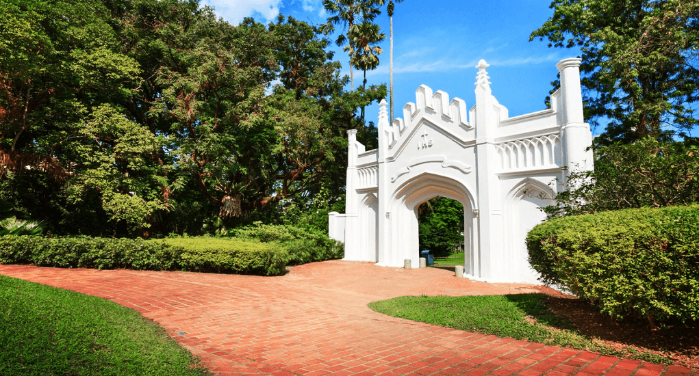 Traveling to Singapore - Fort Canning Hill