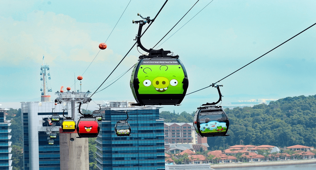 Traveling to Singapore - Singapore Cable Car