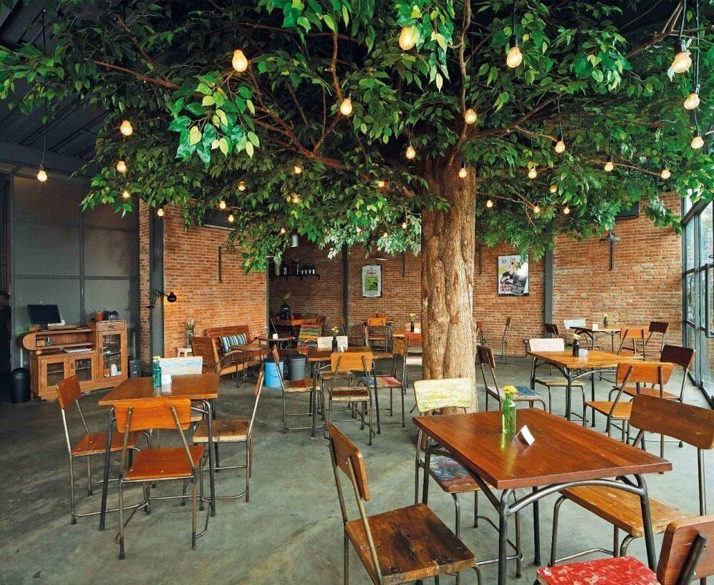 Cafe di Bogor dengan interior menarik
