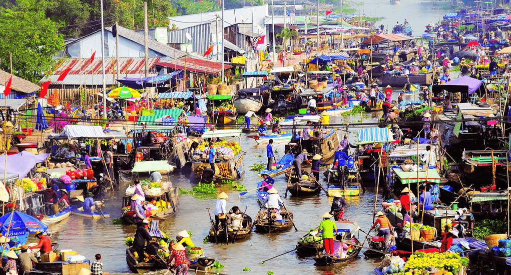 Vietnam - Cai Rang Floating Market