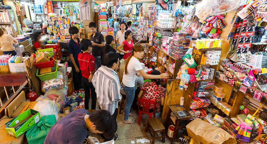 Vietnam - Cholon Chinatown Market