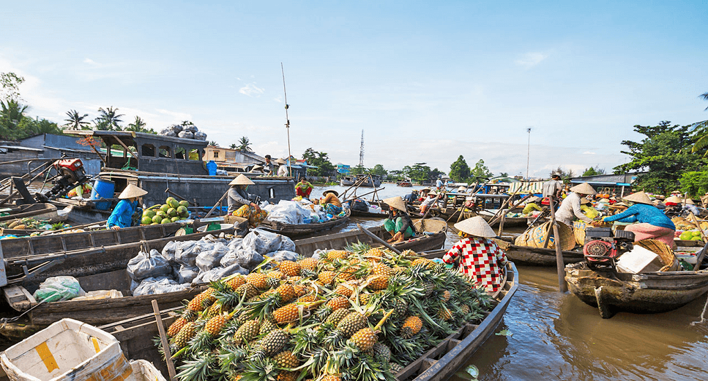 Vietnam - Floating market