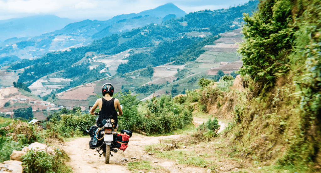 Vietnam - Riding a motorbike from Ho Chi Minh