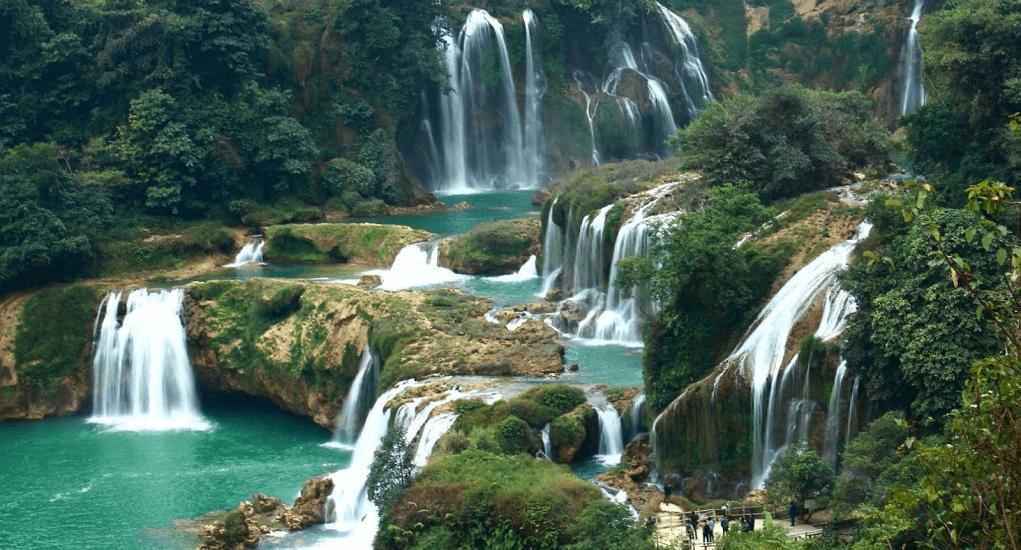 Vietnam - Thac Bac Waterfalls