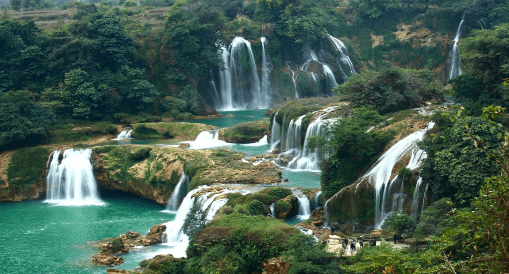 Vietnam - Thac Bac Waterfalls