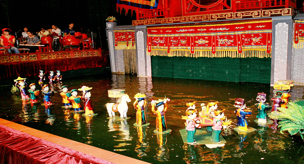 Vietnam - Water puppetry