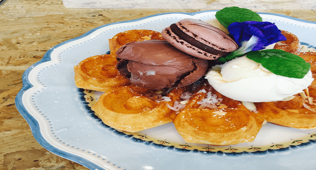 Waffles - New Chapter by the Owls Cafe in Bukit Jalil