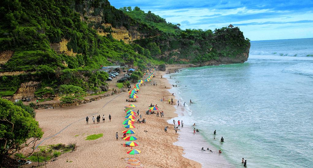 Wisata Yogyakarta - Pantai Pok Tunggal
