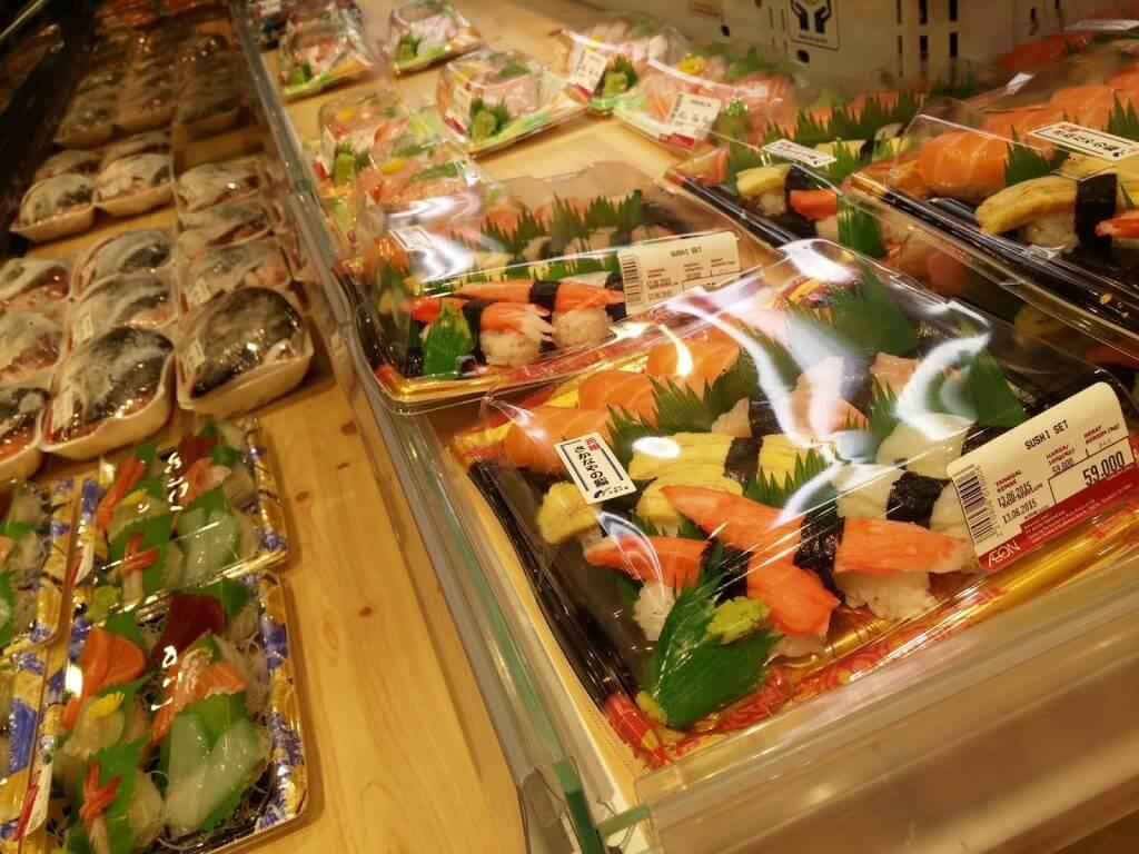 aeon sushi tangerang