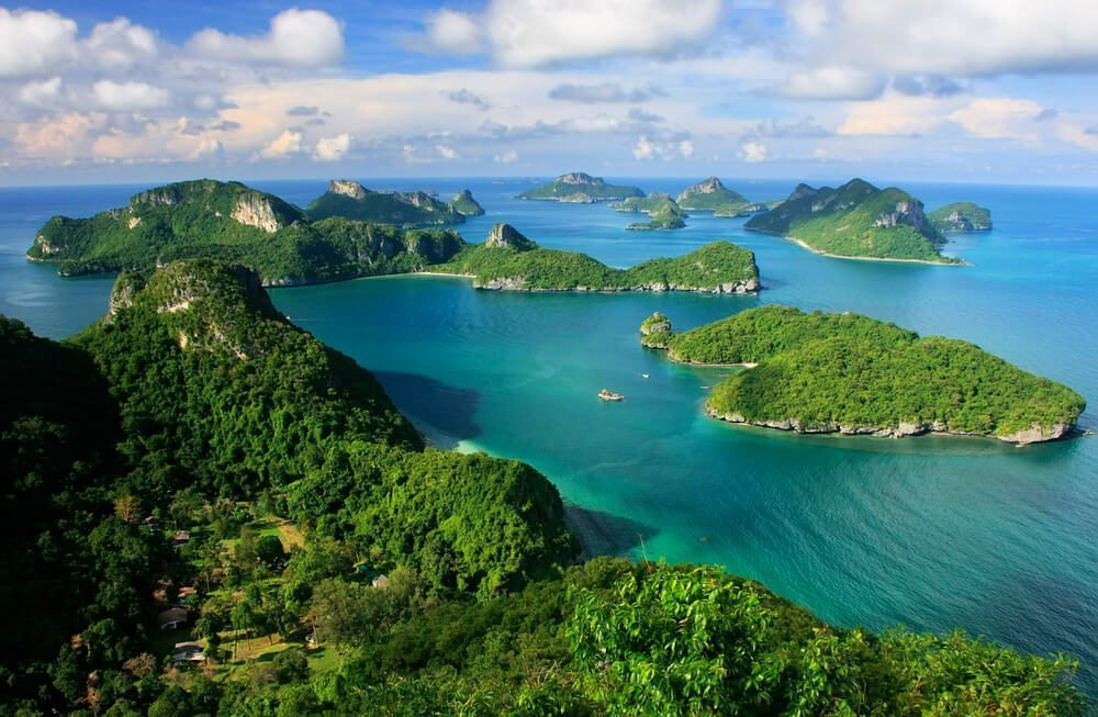 view of ang thong national marine park