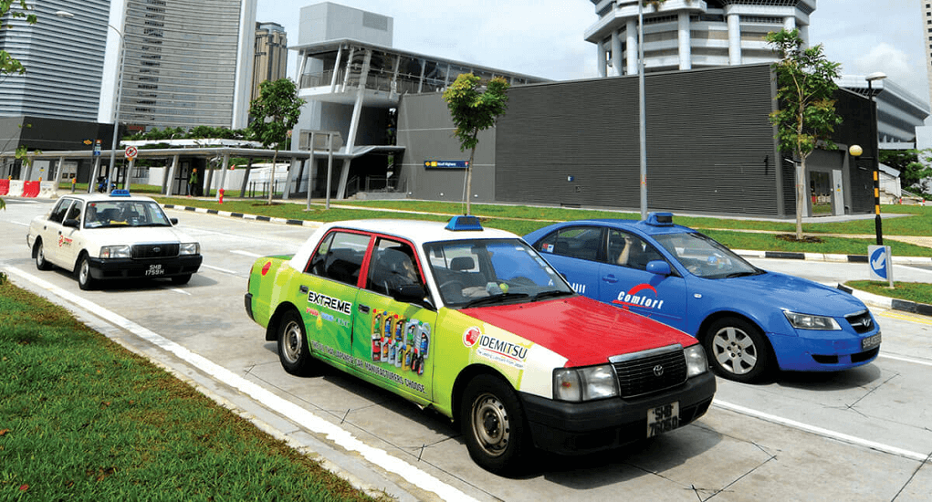 bandara Changi - Taxi