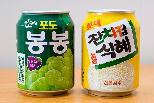 Korean beverages