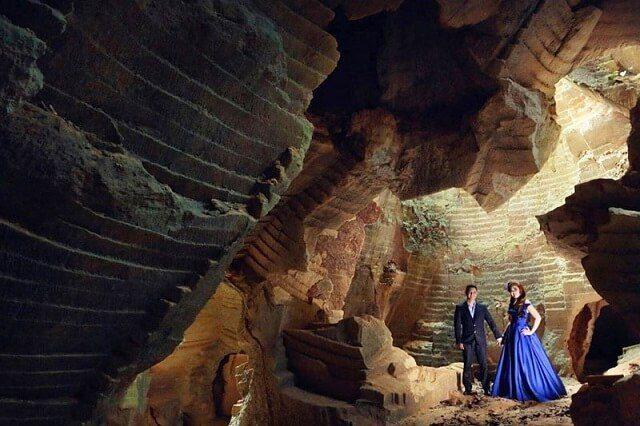 foto pre-wedding di bukit pelalangan madura