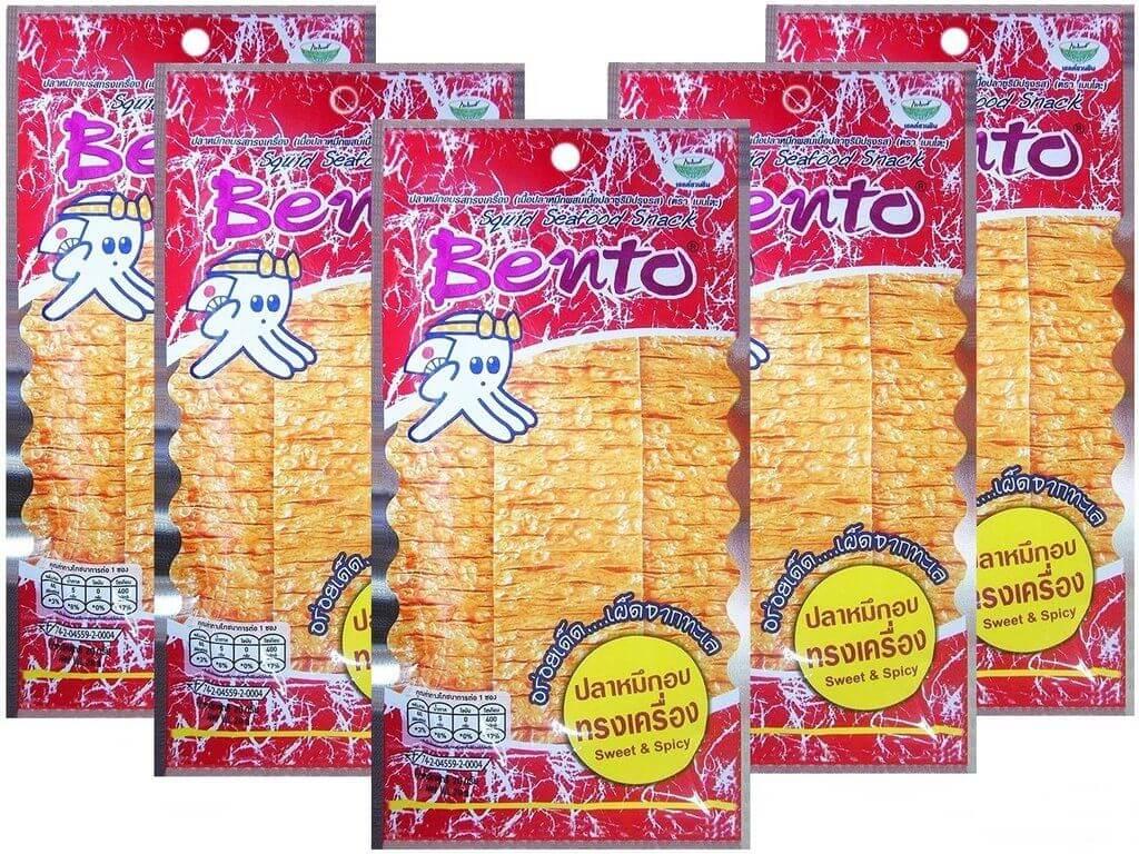 Bento Squid Seafood Snack