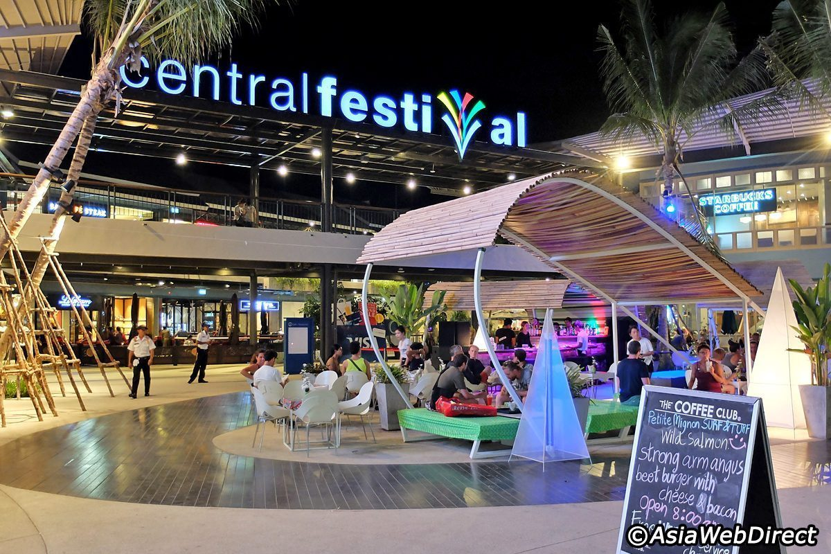 central festival the biggest mall in the island