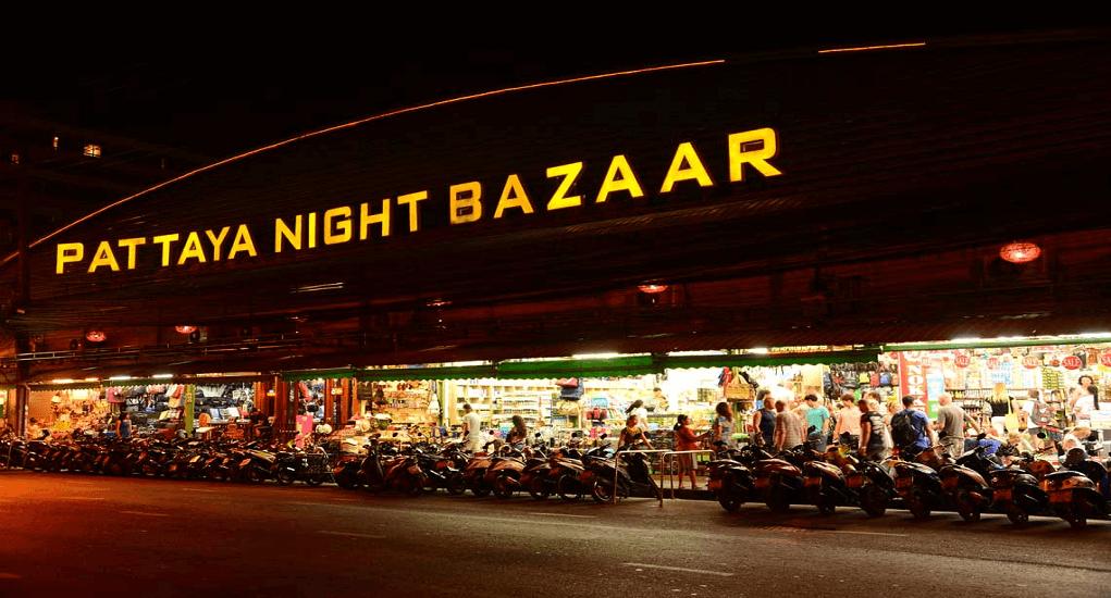 Shopping in Pattaya - Pataya Night Bazar