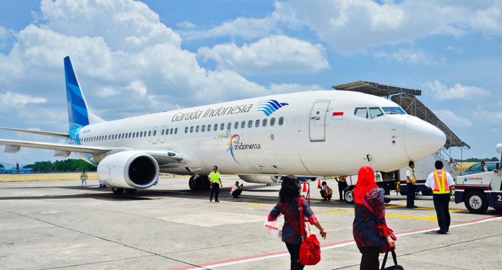 check in online - Garuda Indonesia