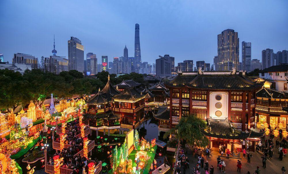 chinese spring festival lantern