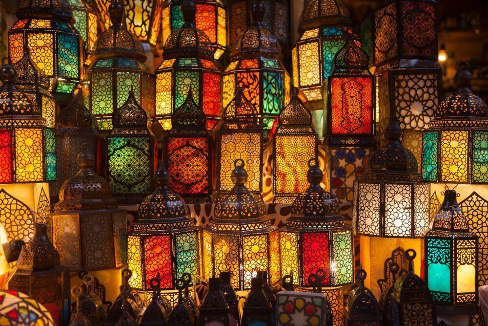 โคมไฟสีสันสดใส (อียิปต์)