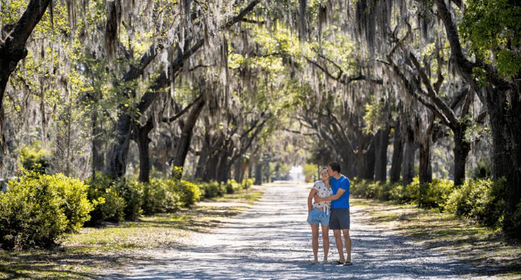 couple vacation - Savannah, Georgia