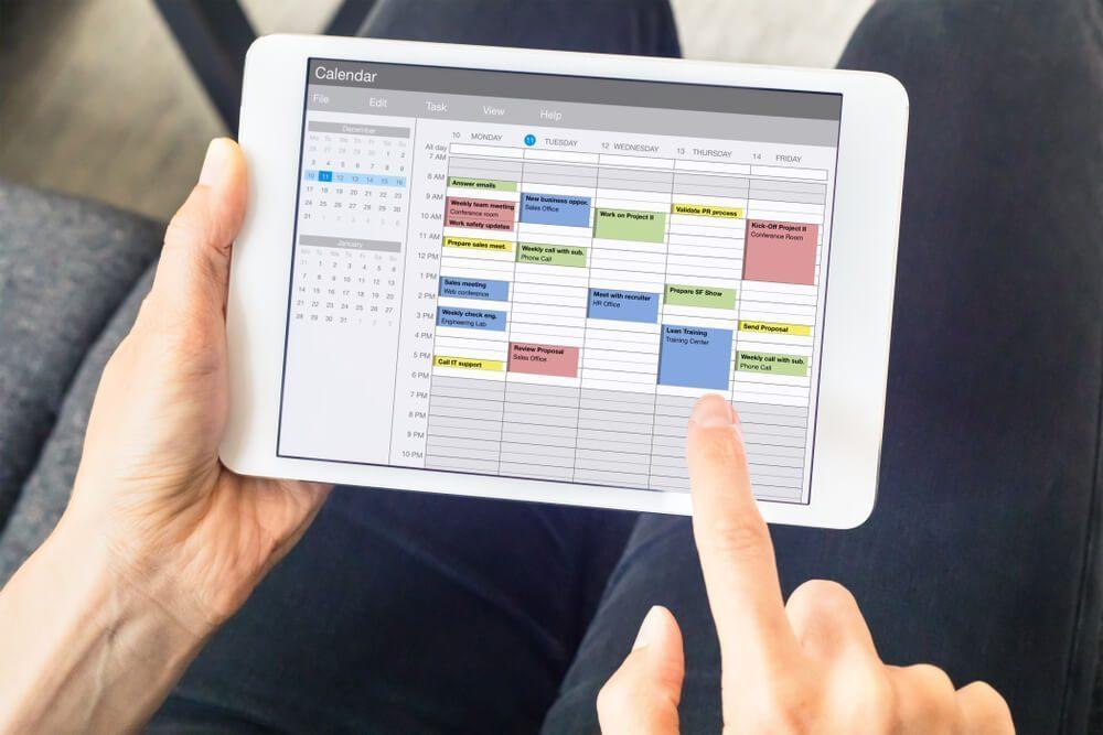 create work schedule