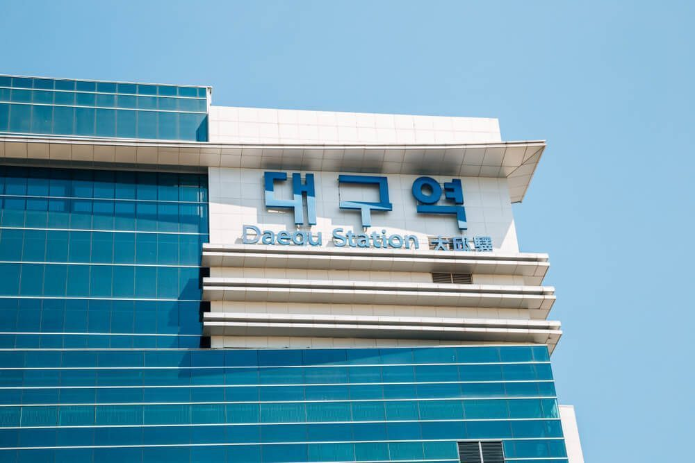 daegu station building