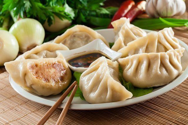 dumplings lucky foods