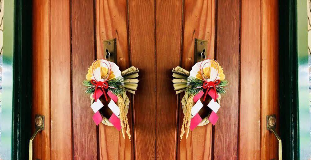 fastening door decorations