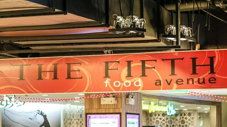 fifth food avenue halal food court