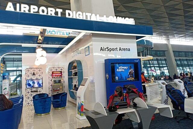 fasilitas gaming area