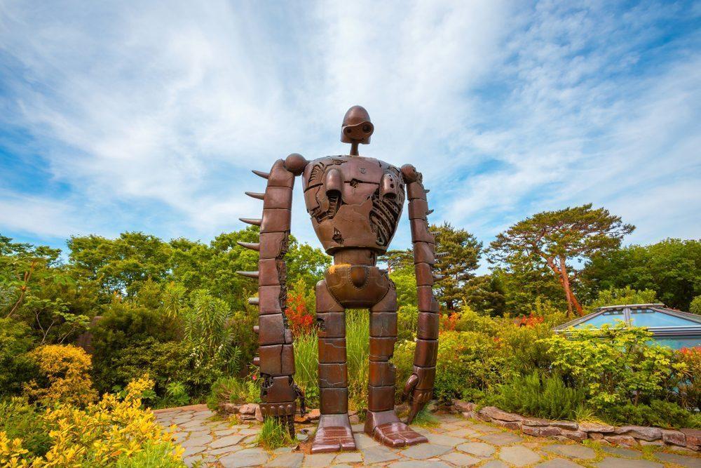 giant robot in ghibli museum