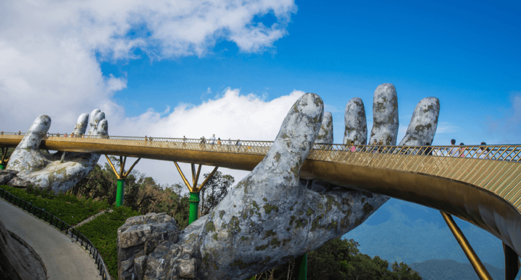 golden bridge Vietnam - About Danang City