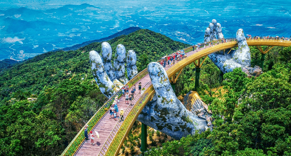 golden bridge Vietnam - The Highlights