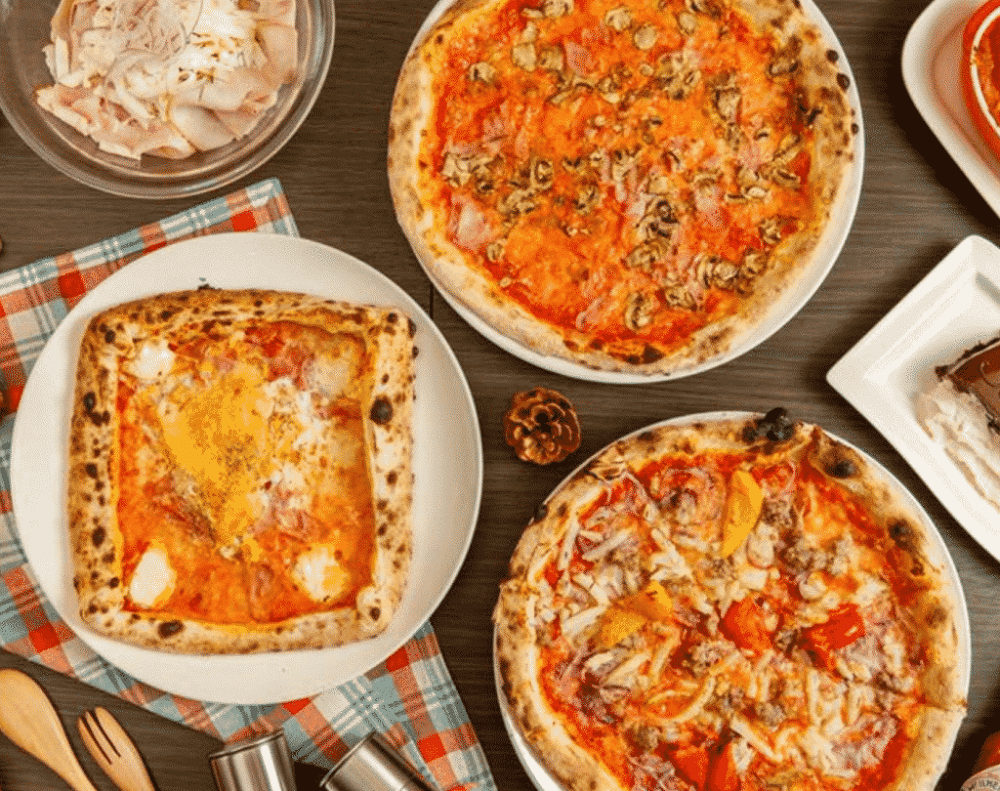 pizza with halal ingredients