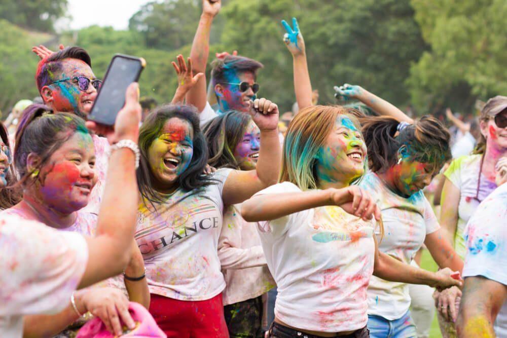 holi festival australia
