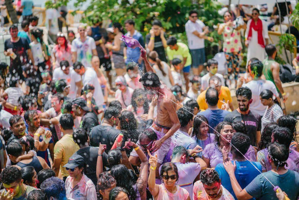 holi festival singapore