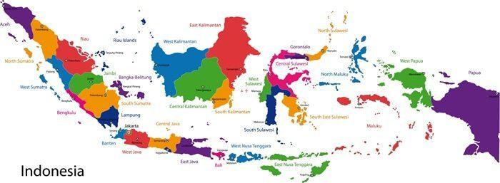 indonesia-peta