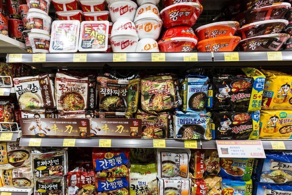 korean instant noodle